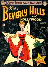 Cover Thumbnail for Miss Beverly Hills of Hollywood (DC, 1949 series) #1