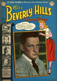 Cover Thumbnail for Miss Beverly Hills of Hollywood (DC, 1949 series) #9