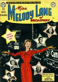 Cover Thumbnail for Miss Melody Lane of Broadway (DC, 1950 series) #1