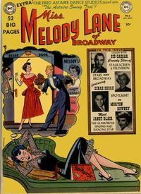 Cover Thumbnail for Miss Melody Lane of Broadway (DC, 1950 series) #2