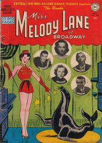 Cover Thumbnail for Miss Melody Lane of Broadway (DC, 1950 series) #3