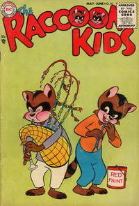 Cover Thumbnail for The Raccoon Kids (DC, 1954 series) #56