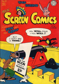 Cover Thumbnail for Real Screen Comics (DC, 1945 series) #9