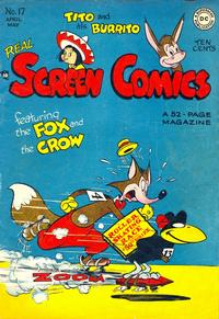 Cover Thumbnail for Real Screen Comics (DC, 1945 series) #17