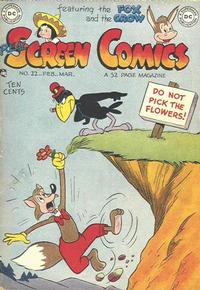 Cover Thumbnail for Real Screen Comics (DC, 1945 series) #22