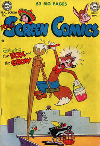 Cover Thumbnail for Real Screen Comics (DC, 1945 series) #42