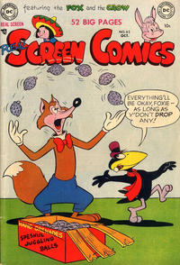 Cover Thumbnail for Real Screen Comics (DC, 1945 series) #43