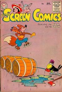 Cover Thumbnail for Real Screen Comics (DC, 1945 series) #84