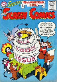 Cover Thumbnail for Real Screen Comics (DC, 1945 series) #100
