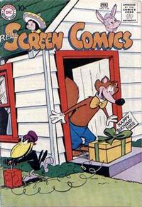 Cover Thumbnail for Real Screen Comics (DC, 1945 series) #126