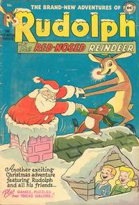 Cover Thumbnail for Rudolph the Red-Nosed Reindeer (DC, 1950 series) #[3 1952]
