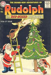 Cover Thumbnail for Rudolph the Red-Nosed Reindeer (DC, 1950 series) #[7 1956-1957]