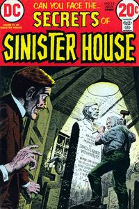 Cover Thumbnail for Secrets of Sinister House (DC, 1972 series) #12