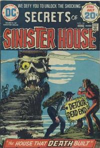 Cover Thumbnail for Secrets of Sinister House (DC, 1972 series) #18