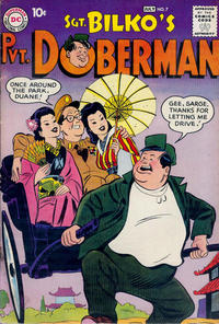 Cover Thumbnail for Sgt. Bilko's Pvt. Doberman (DC, 1958 series) #7