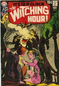Cover Thumbnail for The Witching Hour (DC, 1969 series) #6