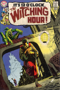 Cover Thumbnail for The Witching Hour (DC, 1969 series) #9