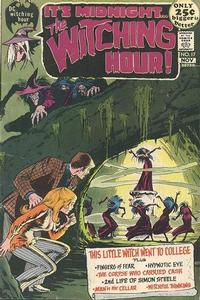 Cover Thumbnail for The Witching Hour (DC, 1969 series) #17