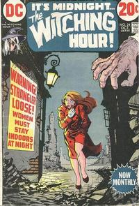Cover Thumbnail for The Witching Hour (DC, 1969 series) #24