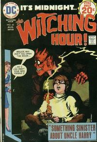 Cover Thumbnail for The Witching Hour (DC, 1969 series) #45