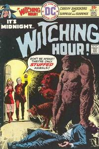 Cover for The Witching Hour (DC, 1969 series) #61