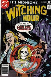 Cover Thumbnail for The Witching Hour (DC, 1969 series) #72