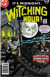 Cover Thumbnail for The Witching Hour (DC, 1969 series) #82