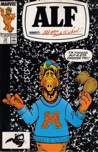 Cover Thumbnail for ALF (Marvel, 1988 series) #10 [Direct Edition]