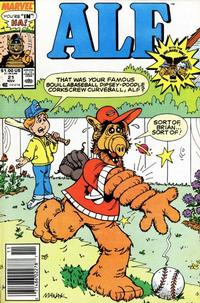 Cover Thumbnail for ALF (Marvel, 1988 series) #21