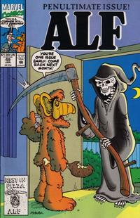 Cover Thumbnail for ALF (Marvel, 1988 series) #49