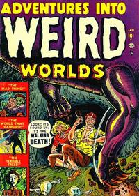 Cover Thumbnail for Adventures into Weird Worlds (Marvel, 1952 series) #1