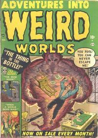 Cover Thumbnail for Adventures Into Weird Worlds (Marvel, 1952 series) #2