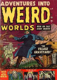 Cover Thumbnail for Adventures Into Weird Worlds (Marvel, 1952 series) #4