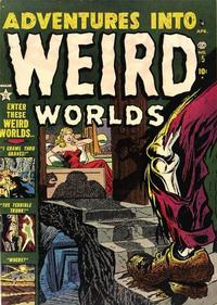Cover Thumbnail for Adventures Into Weird Worlds (Marvel, 1952 series) #5