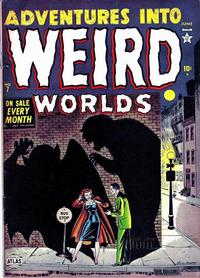 Cover Thumbnail for Adventures Into Weird Worlds (Marvel, 1952 series) #7