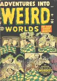 Cover Thumbnail for Adventures Into Weird Worlds (Marvel, 1952 series) #8