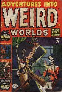 Cover Thumbnail for Adventures Into Weird Worlds (Marvel, 1952 series) #9