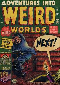 Cover Thumbnail for Adventures into Weird Worlds (Marvel, 1952 series) #10