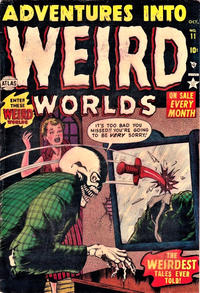 Cover Thumbnail for Adventures Into Weird Worlds (Marvel, 1952 series) #11