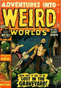 Cover Thumbnail for Adventures Into Weird Worlds (Marvel, 1952 series) #12