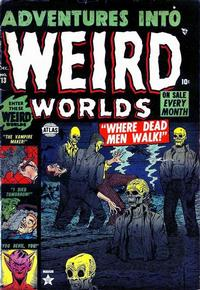 Cover Thumbnail for Adventures into Weird Worlds (Marvel, 1952 series) #13