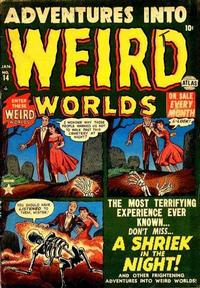 Cover Thumbnail for Adventures Into Weird Worlds (Marvel, 1952 series) #14