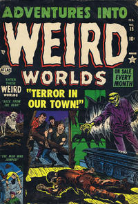 Cover Thumbnail for Adventures Into Weird Worlds (Marvel, 1952 series) #15