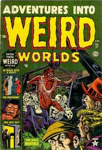 Cover Thumbnail for Adventures Into Weird Worlds (Marvel, 1952 series) #17