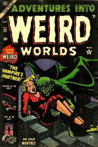 Cover Thumbnail for Adventures Into Weird Worlds (Marvel, 1952 series) #22