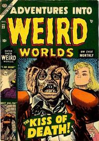 Cover Thumbnail for Adventures Into Weird Worlds (Marvel, 1952 series) #23