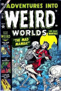 Cover Thumbnail for Adventures Into Weird Worlds (Marvel, 1952 series) #25