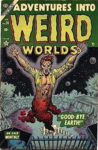 Cover Thumbnail for Adventures Into Weird Worlds (Marvel, 1952 series) #26