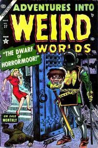 Cover for Adventures Into Weird Worlds (Marvel, 1952 series) #27