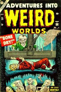 Cover Thumbnail for Adventures Into Weird Worlds (Marvel, 1952 series) #29